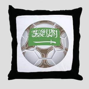 Saudi Arabia Championship Soc Throw Pillow