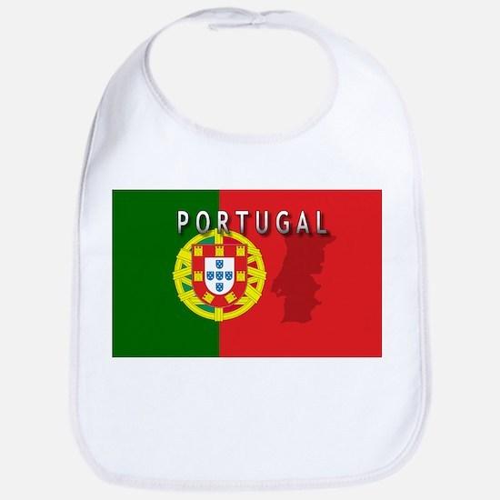Portugal Flag Extra Bib