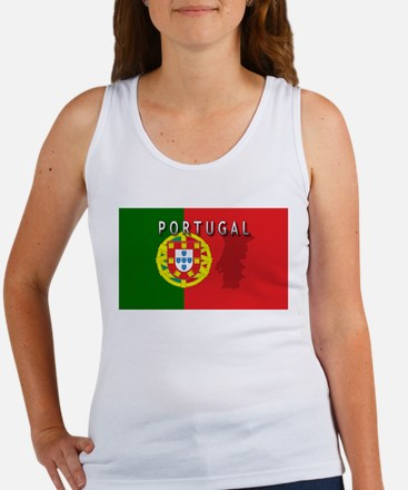 Portugal Flag Extra Women's Tank Top