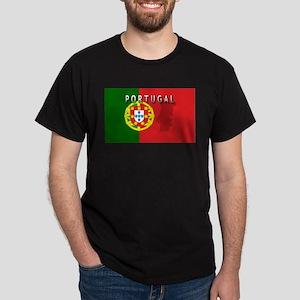 Portugal Flag Extra Dark T-Shirt
