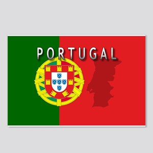 Portugal Flag Extra Postcards (Package of 8)