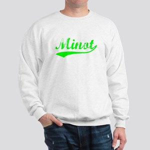 Vintage Minot (Green) Sweatshirt