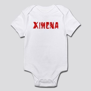 Ximena Faded (Red) Infant Bodysuit