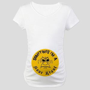 Sometimes I'm A Sour Kraut Maternity T-Shirt