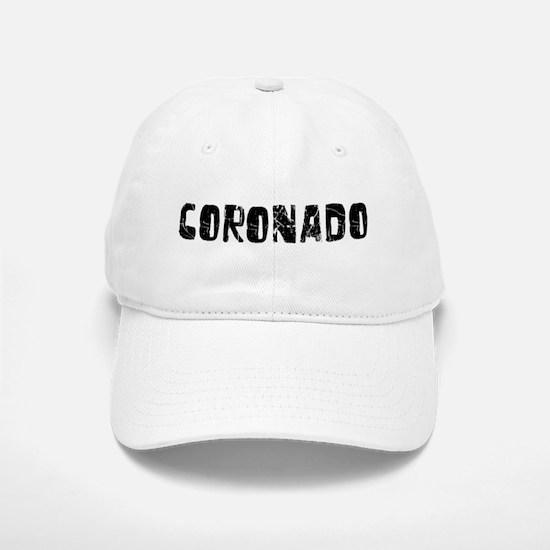 Coronado Faded (Black) Baseball Baseball Cap