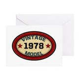 1978 Greeting Cards (20 Pack)