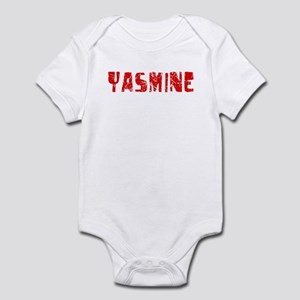 Yasmine Faded (Red) Infant Bodysuit