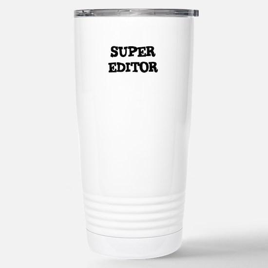 SUPER EDITOR Mugs