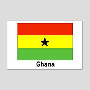 Ghana Flag Mini Poster Print