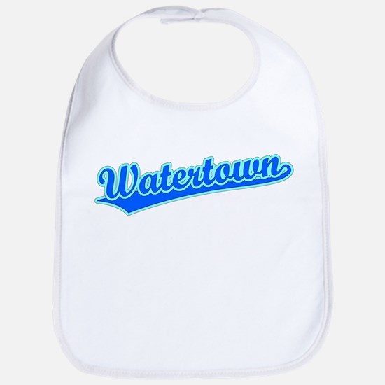 Retro Watertown (Blue) Bib