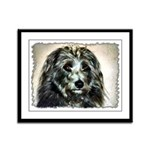 ...Dog 03... Framed Panel Print