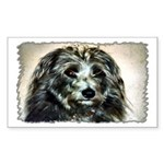 ...Dog 03... Rectangle Sticker