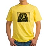...Dog 03... Yellow T-Shirt