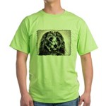 ...Dog 03... Green T-Shirt