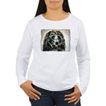 ...Dog 03... Women's Long Sleeve T-Shirt