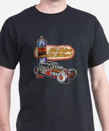 No Shine on Mine Rat Rod T-Shirt