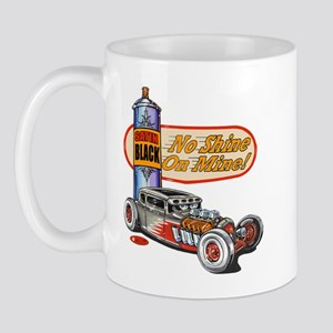 No Shine on Mine Rat Rod Mug