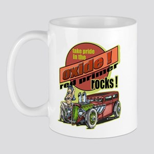 Take Pride in the Oxide Rat Rod Pinup Mug