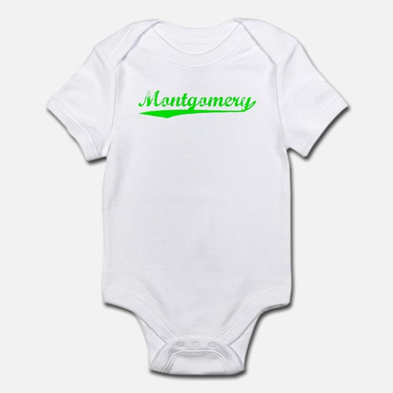 Vintage Montgomery (Green) Infant Bodysuit