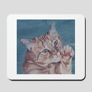 Orange Tabby Mousepad