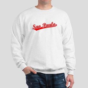 Retro Sao Paulo (Red) Sweatshirt