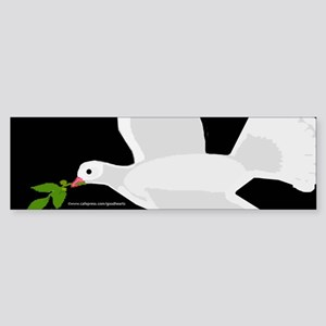 Peace Dove Bumper Sticker