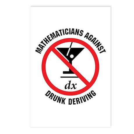 Drunk Deriving Postcards (Package of 8)
