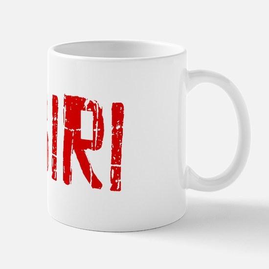 Zagiri Faded (Red) Mug