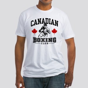 Canadian Boxing Fitted T-Shirt