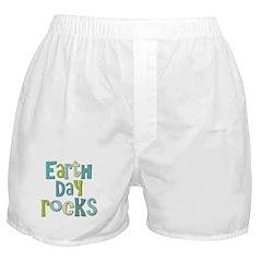 Earth Day Rocks Holiday Boxer Shorts