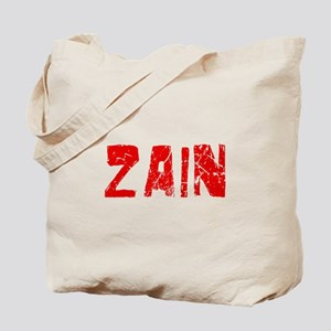 Zain Faded (Red) Tote Bag