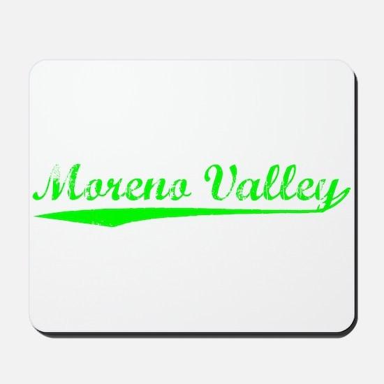Vintage Moreno Val.. (Green) Mousepad
