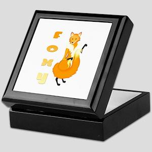 Foxy Keepsake Box