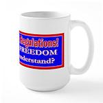 Repeal Taxes#1 Large Mug