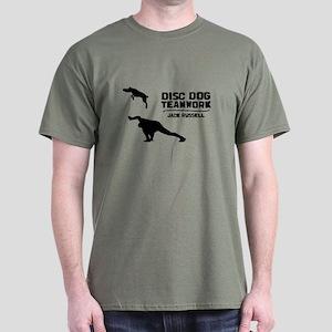 Teamwork Jack Russell Dark T-Shirt