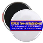 Repeal Taxes#2 Magnet