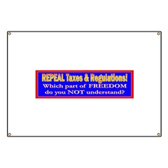 Repeal Taxes#2 Banner