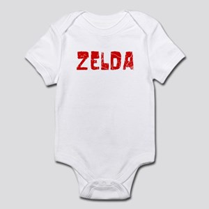 Zelda Faded (Red) Infant Bodysuit