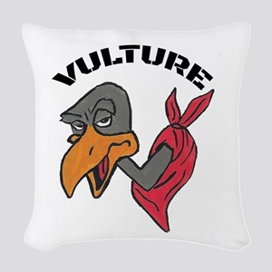 Vulture Woven Throw Pillow