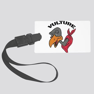 Vulture Luggage Tag