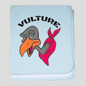 Vulture baby blanket