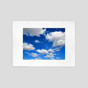 Cloudy Sky 5'x7'Area Rug