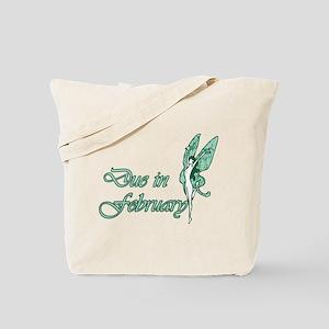 Due February Green W Fairy Tote Bag