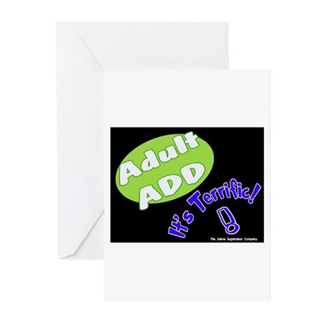 Adult ADD Greeting Cards (Pk of 10)