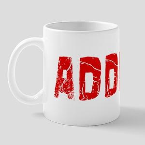 Addison Faded (Red) Mug