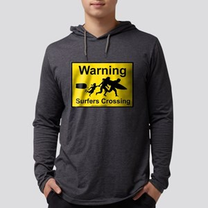 Surfers Crossing Long Sleeve T-Shirt