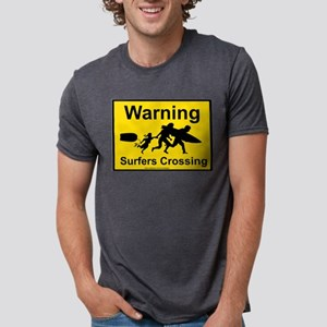 Surfers Crossing T-Shirt