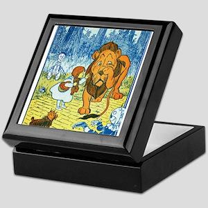 Cowardly Lion Keepsake Box