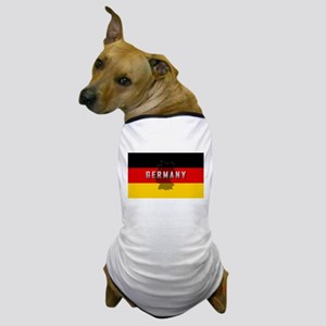 Germany Flag Extra Dog T-Shirt