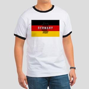 Germany Flag Extra Ringer T